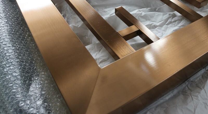 stainless steel room divider